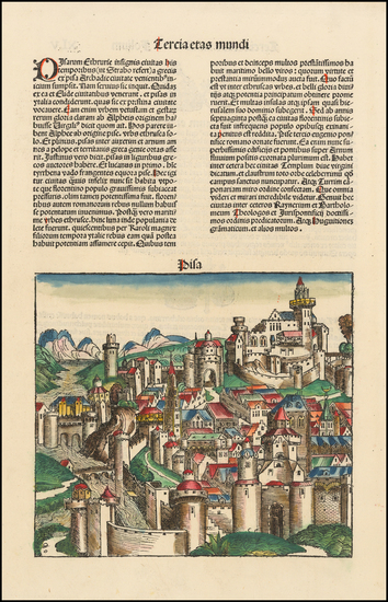 88-Other Italian Cities Map By Hartmann Schedel