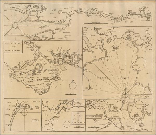 0-British Isles and British Counties Map By John Senex / Edmund Halley / Nathaniel Cutler
