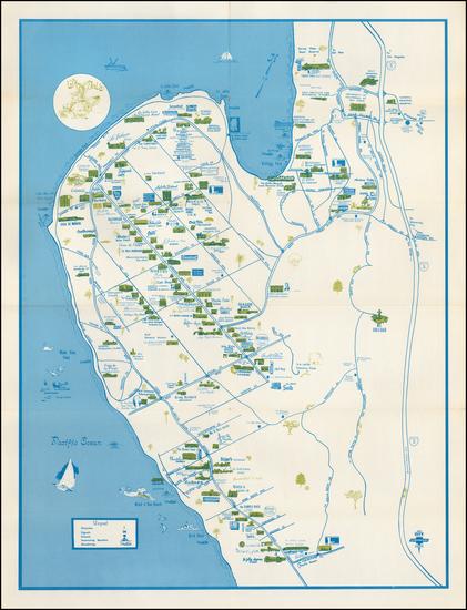 """63-California Map By Priscilla """"Pat"""" DeVore"""