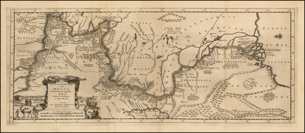 19-Russia and Ukraine Map By Pieter van der Aa