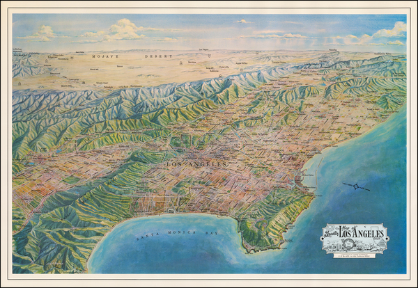 43-California Map By Jack H. Moffett