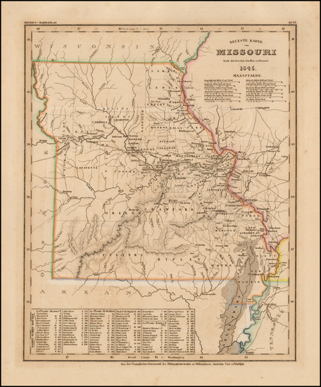 97-Midwest, Plains and Missouri Map By Joseph Meyer