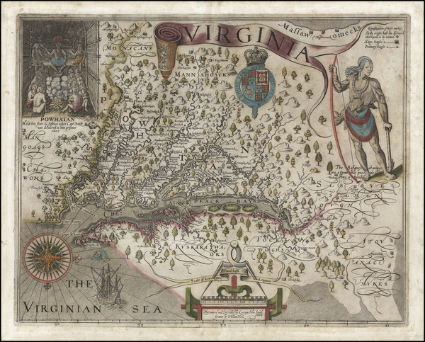 35-Mid-Atlantic, South and Southeast Map By John Smith