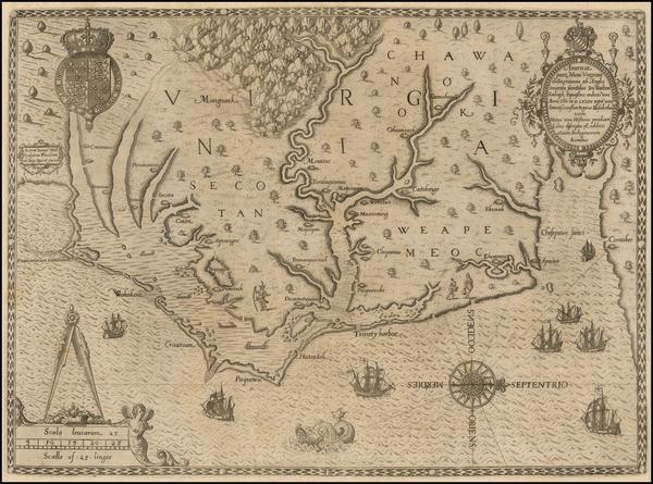 3-Southeast Map By John White