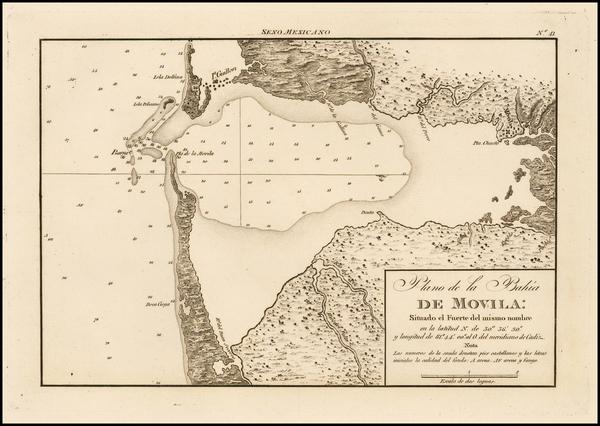 56-South and Alabama Map By Direccion Hidrografica de Madrid