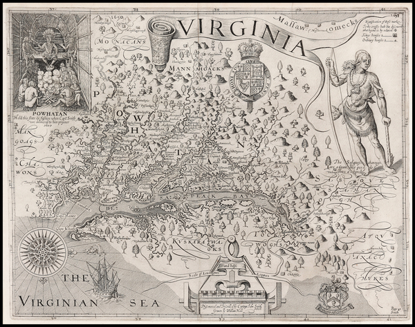 58-Mid-Atlantic, South and Southeast Map By John Smith
