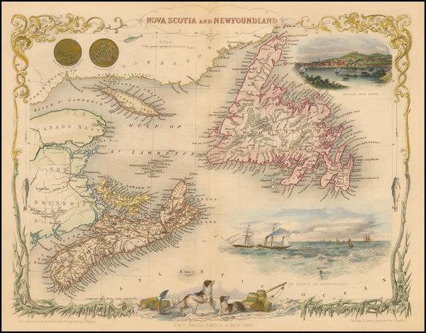 18-Canada Map By John Tallis