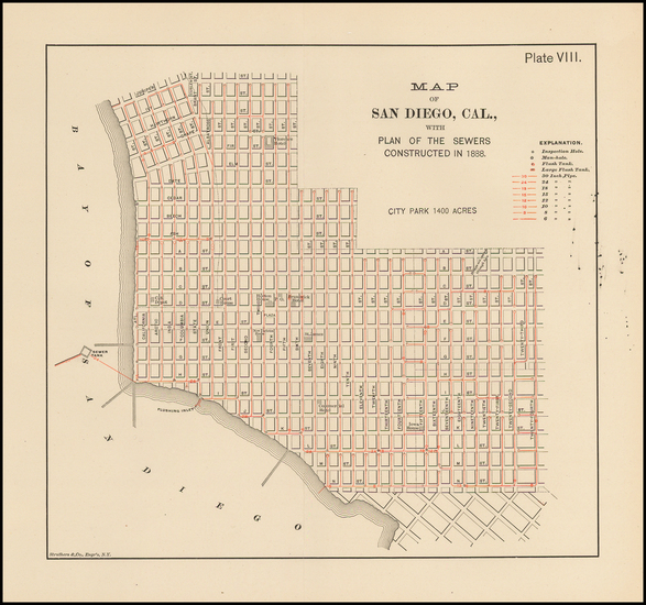 90-San Diego Map By Struthers & Co.