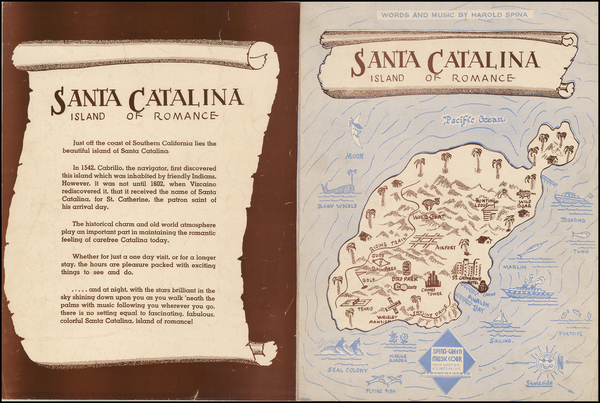 64-California Map By