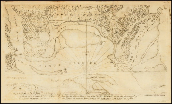 18-Mid-Atlantic, Southeast and South Carolina Map By Thomas Abernethie