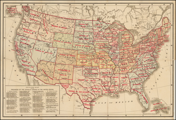 40-United States Map By Hoffman Bros