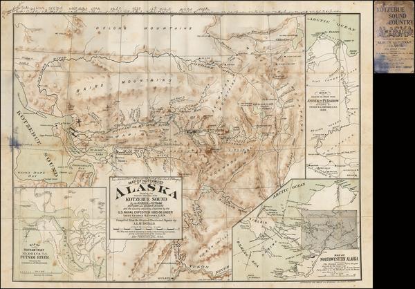 60-Alaska Map By A.L. McDonald