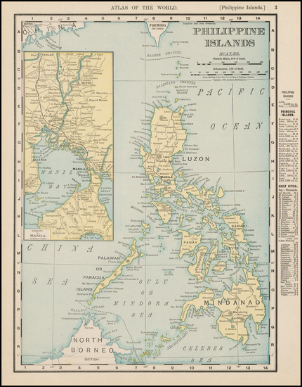 23-Philippines Map By Rand McNally & Company