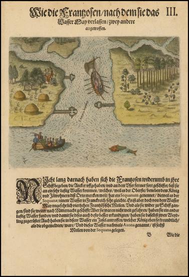 29-Southeast Map By Theodor De Bry