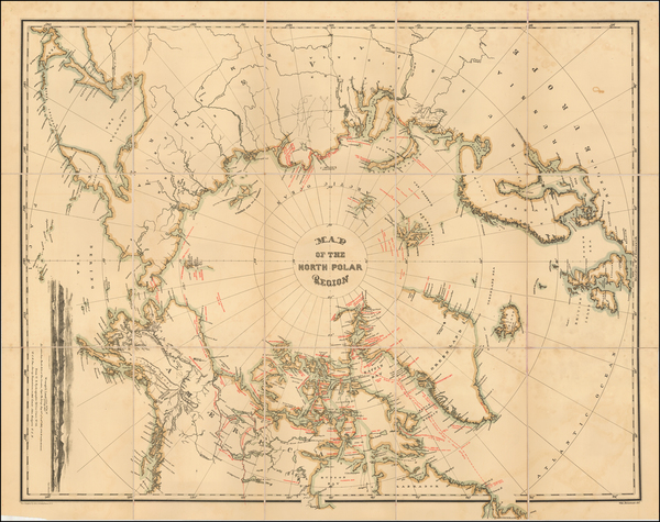 91-Polar Maps, Alaska, Canada, Russia and Scandinavia Map By William Bauman / The Graphic Co.
