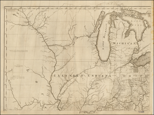 45-United States, Midwest and Plains Map By Abraham Bradley