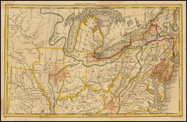 97-Mid-Atlantic and Midwest Map By William Darby