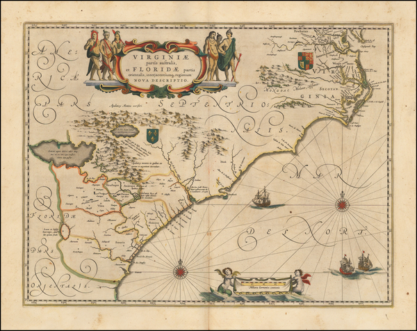 13-Southeast Map By Willem Janszoon Blaeu