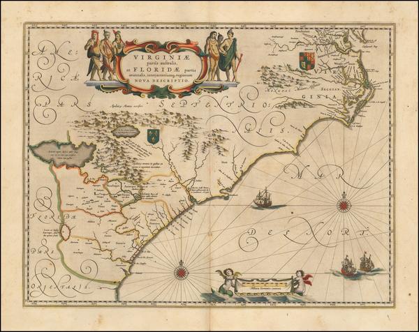 1-Southeast Map By Willem Janszoon Blaeu