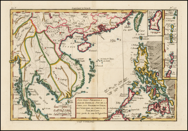 13-Southeast Asia, Philippines and Other Pacific Islands Map By Rigobert Bonne