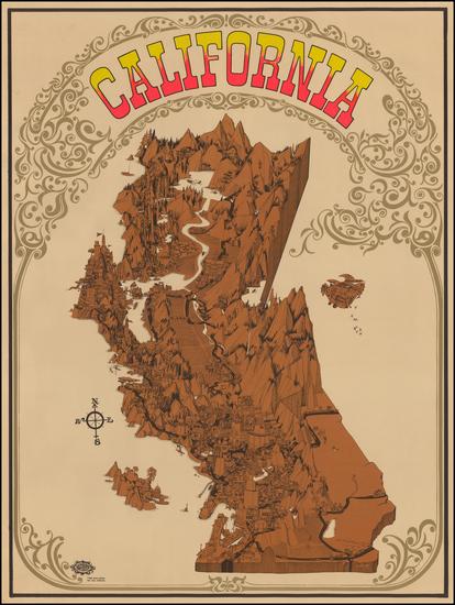 97-California Map By David Schiller