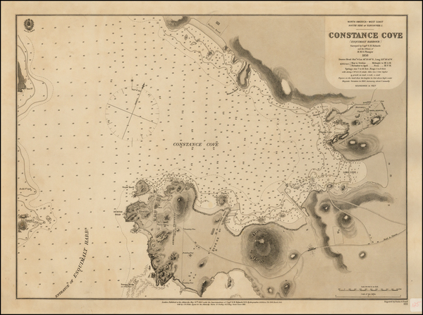 11-Canada Map By British Admiralty