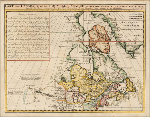 29-New England, Midwest and Canada Map By Henri Chatelain