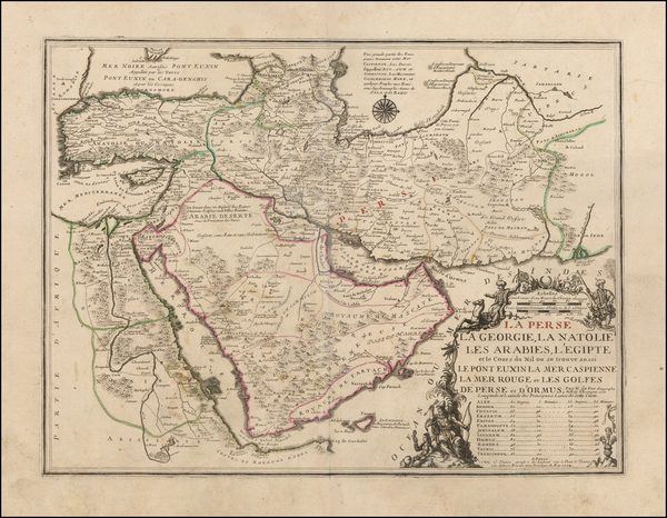 51-Central Asia & Caucasus, Middle East, Arabian Peninsula, Persia, Turkey & Asia Minor an
