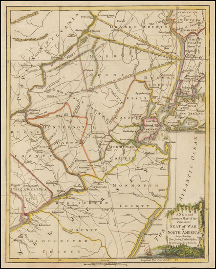 20-Mid-Atlantic and New Jersey Map By Universal Magazine