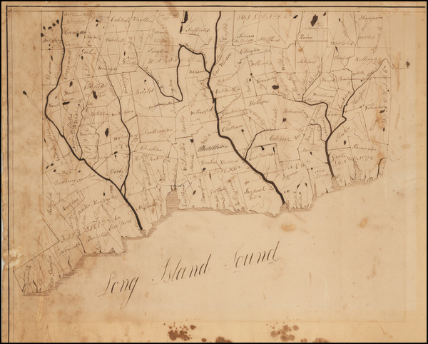60-New England and Connecticut Map By Anonymous