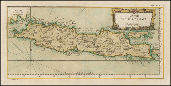 19-Southeast Asia and Indonesia Map By Jacques Nicolas Bellin