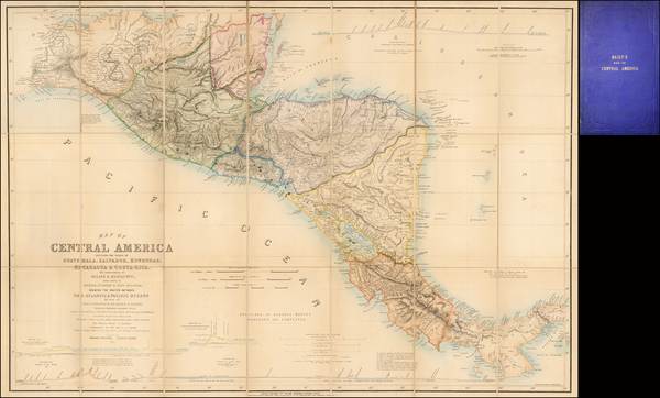 48-Central America Map By John Baily