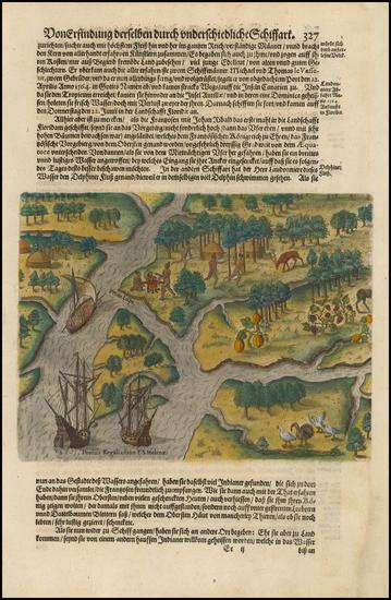 14-Southeast Map By Theodor De Bry