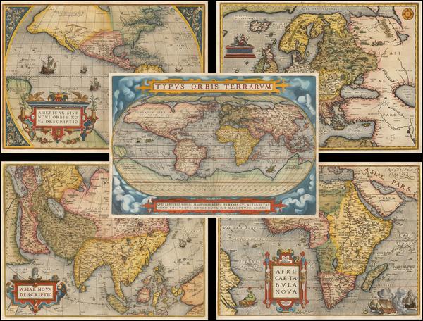 87-World, World, South America, Europe, Europe, Asia, Asia, Africa, Africa and America Map By Abra