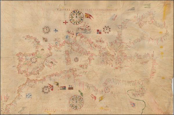 15-Mediterranean Map By Mateo Prunes