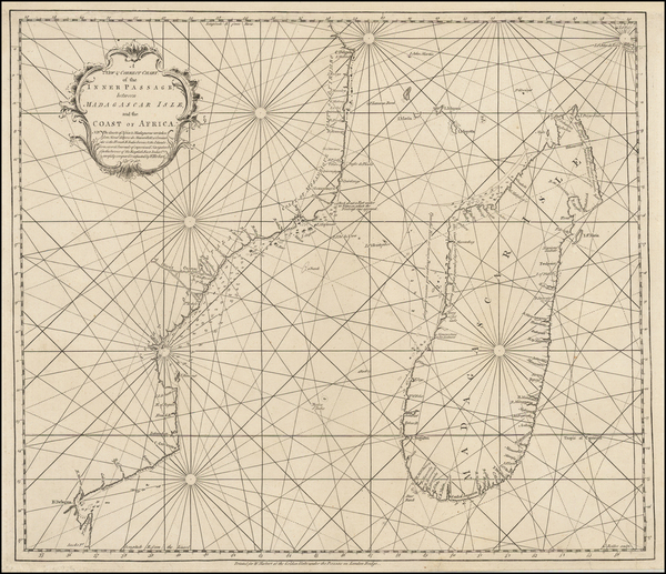 0-East Africa and African Islands, including Madagascar Map By William Herbert