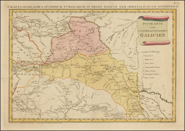34-Poland Map By Franz Johann Joseph von Reilly