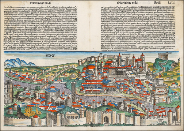 12-Italy Map By Hartmann Schedel