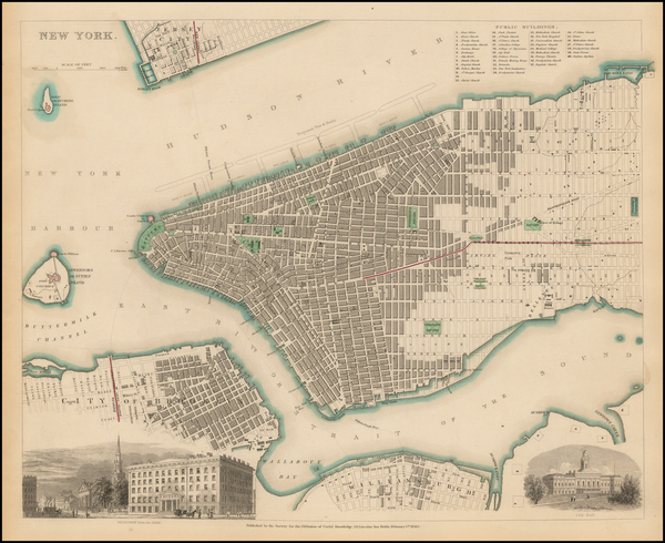 37-New York City Map By SDUK