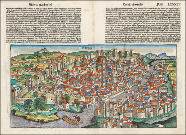 Other Italian Cities Map By Hartmann Schedel