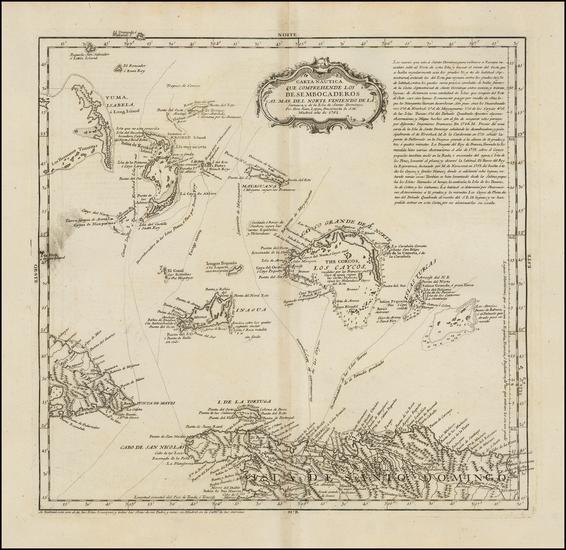 53-Caribbean and Bahamas Map By Don Juan Lopez