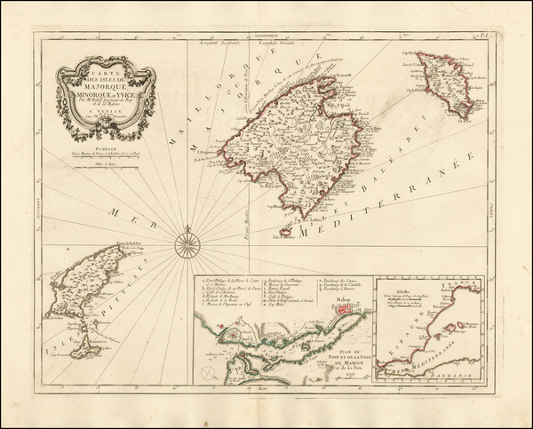 82-Spain and Balearic Islands Map By Paolo Santini