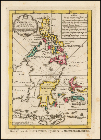 80-Southeast Asia, Philippines and Indonesia Map By J.V. Schley