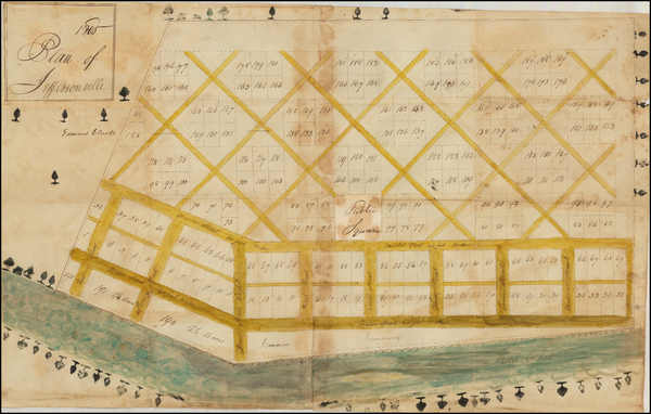 61-Midwest Map By John Gwathmey