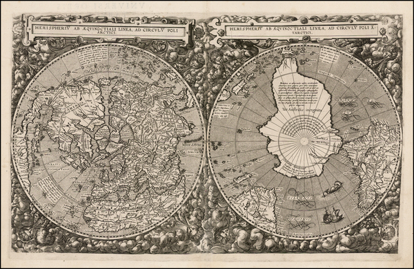7-World Map By Cornelis de Jode