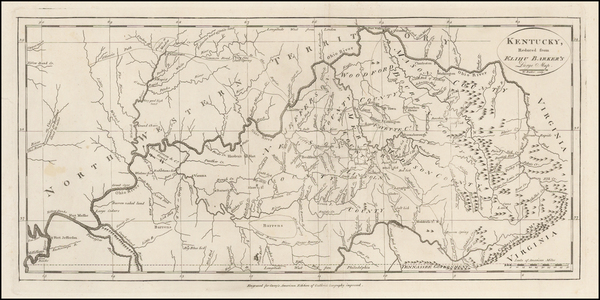54-South and Kentucky Map By