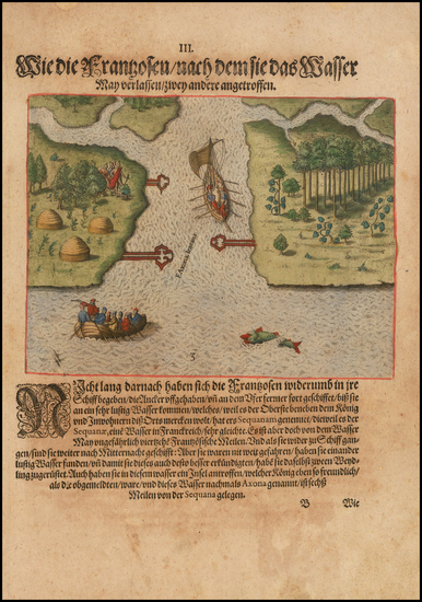 90-Southeast and Georgia Map By Theodor De Bry