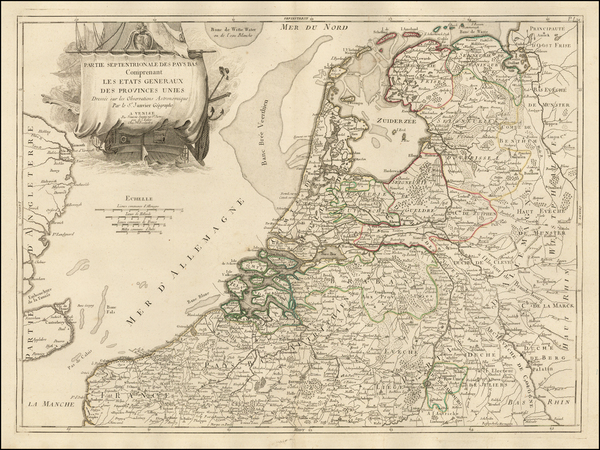 66-Netherlands and Belgium Map By Jean Janvier