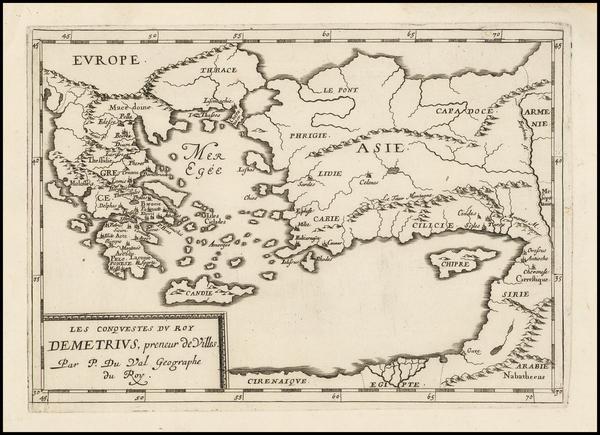 29-Turkey, Turkey & Asia Minor and Greece Map By Pierre Du Val