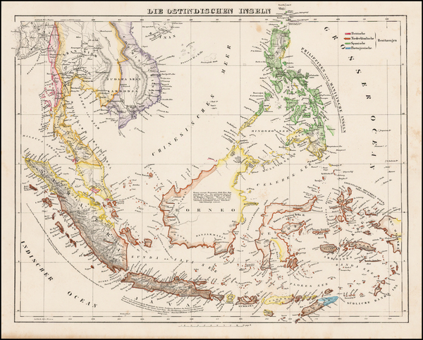 30-Southeast Asia and Philippines Map By Carl Flemming